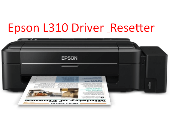 Download Epson L310 printer Driver and Resetter