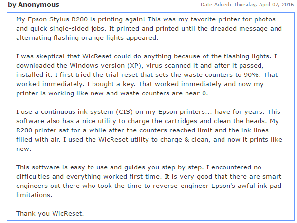 review about wicreset tool