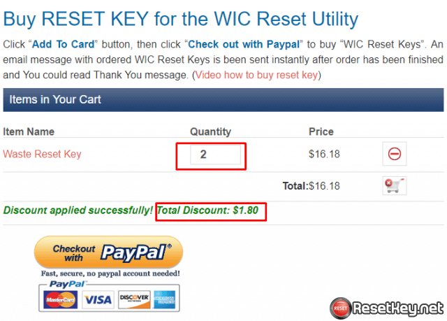 wic reset key coupon