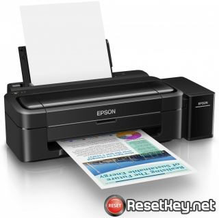 Reset Epson L310 printer with Epson adjustment program