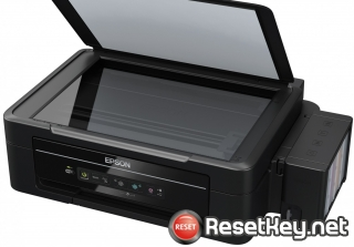 Reset Epson L356 printer with Epson adjustment program