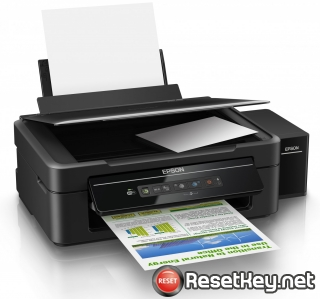 Reset Epson L362 printer with Epson adjustment program