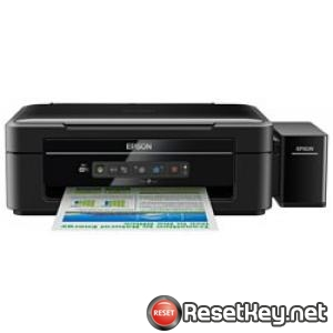 Reset Epson L366 printer with Epson adjustment program