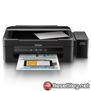 Reset Epson L383 printer with Epson adjustment program