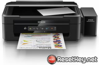Reset Epson L386 printer with Epson adjustment program