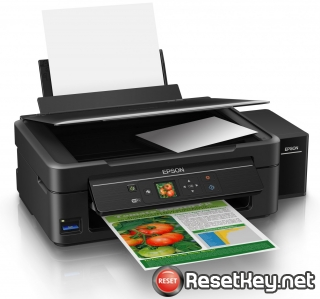 Reset Epson L455 printer with Epson adjustment program