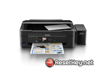 Reset Epson L485 printer with Epson adjustment program