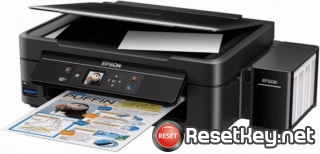 Reset Epson L486 printer with Epson adjustment program
