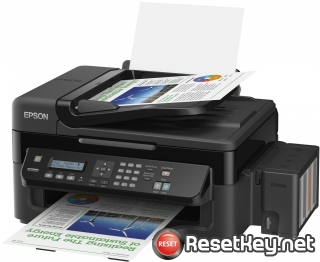 Reset Epson L556 printer with Epson adjustment program