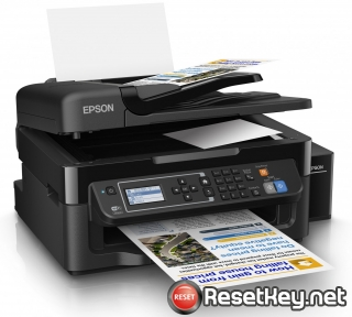 Reset Epson L565 printer with Epson adjustment program