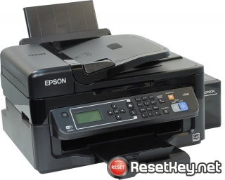 Reset Epson L566 printer with Epson adjustment program