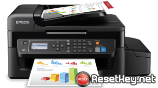 Reset Epson L575 printer with Epson adjustment program