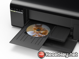 Reset Epson L805 printer with Epson adjustment program