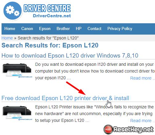 Fix Epson printer no maintenance tab - step 11