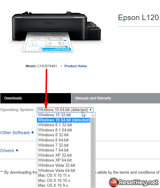 Fix Epson printer no maintenance tab - step 12