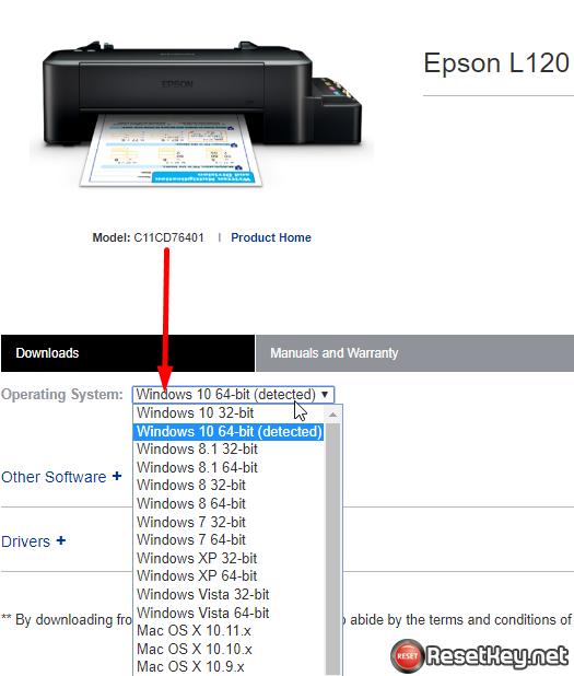 Fix Epson printer no maintenance tab - step 12