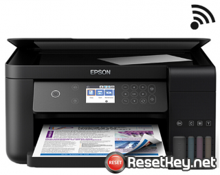 Reset Epson L6168 printer with WICReset Utility Tool