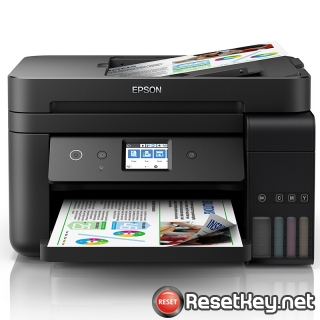 Reset Epson L6198 printer with WICReset Utility Tool