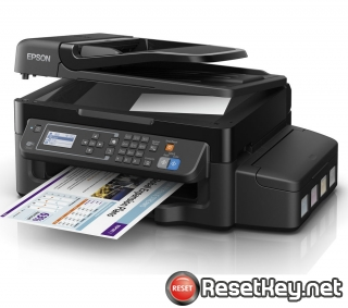 Reset Epson ET-4500 printer Waste Ink Pads Counter