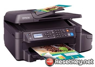 Reset Epson ET-4550 printer with WICReset Utility Tool