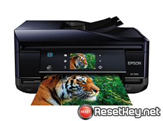 Reset Epson XP-802 printer Waste Ink Pads Counter