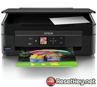 Reset Epson XP-342 printer with WICReset Utility Tool