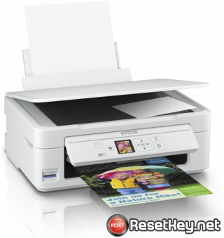 Reset Epson XP-345 printer Waste Ink Pads Counter