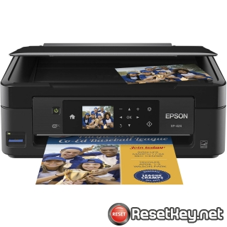 Reset Epson XP-424 printer Waste Ink Pads Counter