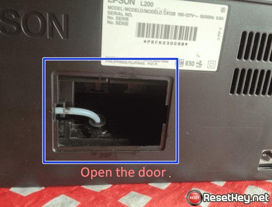 open the small door