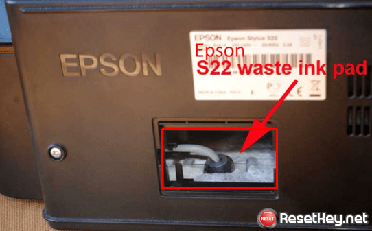 Epson L380 resetter - waste ink pad