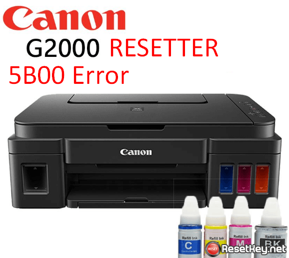 Free download Canon G2000 Resetter – How to get G2000 reset key