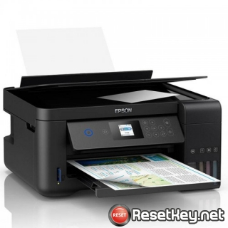Reset Epson L4158 printer Waste Ink Pads Counter