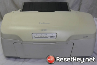 Reset Epson PM-G820 printer with WICReset Utility Tool