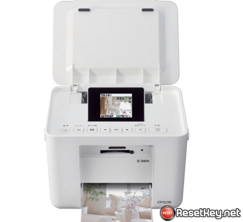 Reset Epson E-340 printer with WICReset Utility Tool