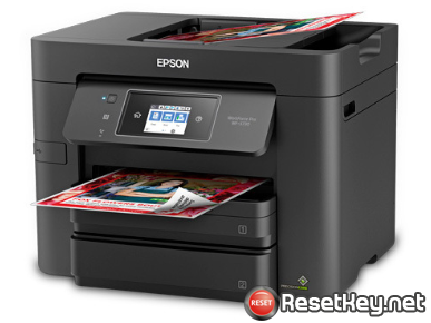 Reset Epson WF-3730 printer with WICReset Utility Tool