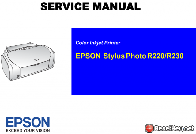 Free Download Epson R220/R230 Service Manual – PDF