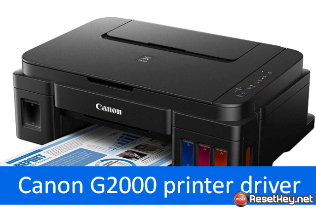 download canon g2000 printer driver