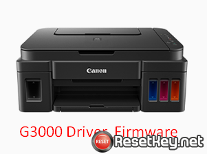 Download Canon G3000 printer Driver and Firmware