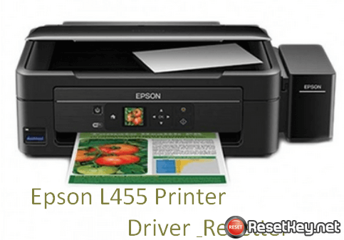 Free download Epson L455 driver and resetter