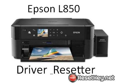 Epson L850 printer – Download Driver, Resetter