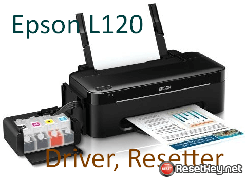 Download Epson L120 printer driver & resetter for Windows, Mac OS