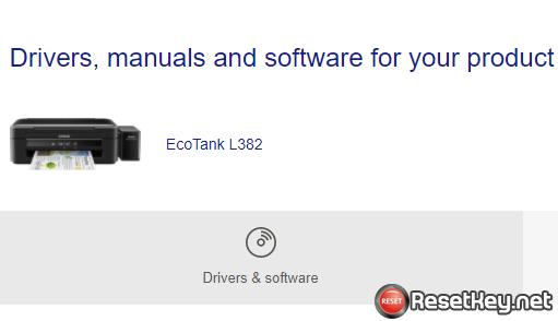 Download Epson L382 printer driver latest (Windows, MAC OS)